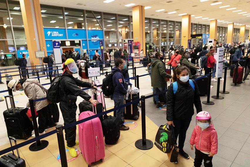 Cerca de 30.000 pasajeros provenientes de Europa llegarán al Perú para Navidad y Año Nuevo
