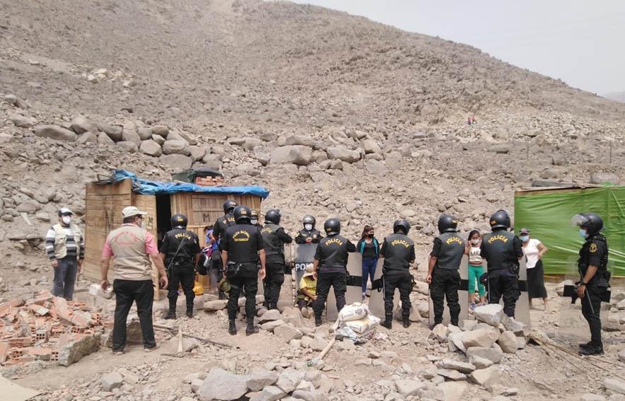 Ministerio de Cultura recupera Sitio Arqueológico Algarrobo B ocupado por invasores