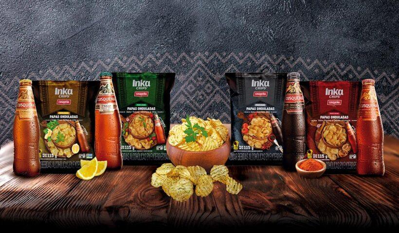 Inka Chips y cerveza Cusqueña se unieron para crear la combinación peruana perfecta