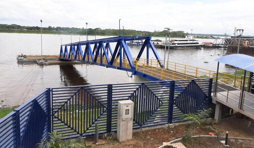 Nuevo Terminal de Pasajeros en Iquitos entrará en operación en febrero