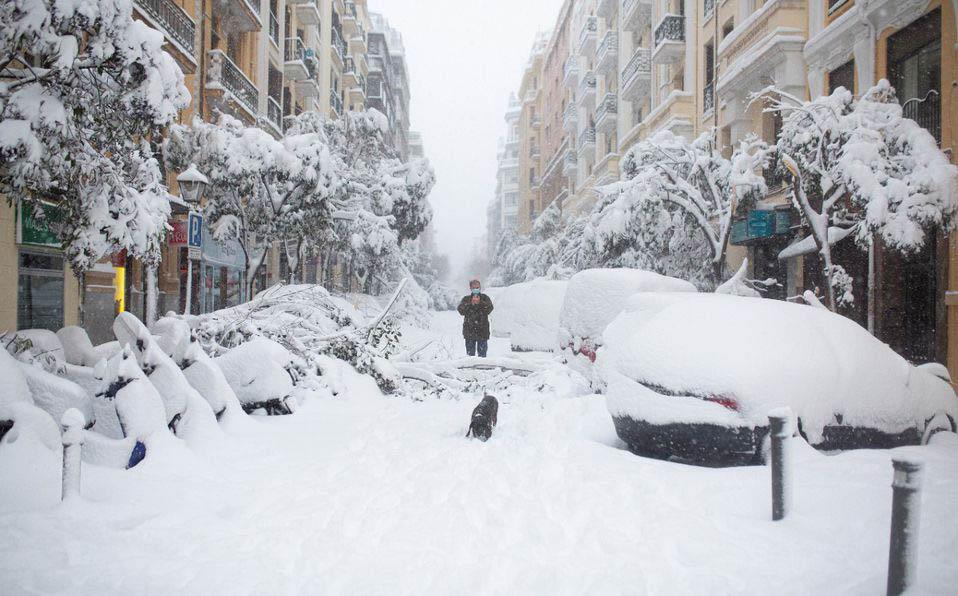 nta de nieve en España