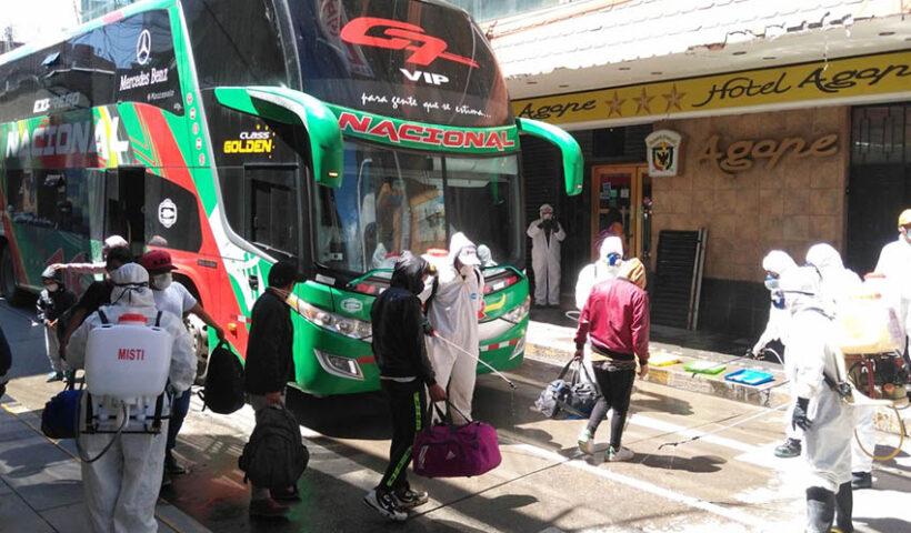 Viajes interprovinciales sí están permitidos a todas las regiones