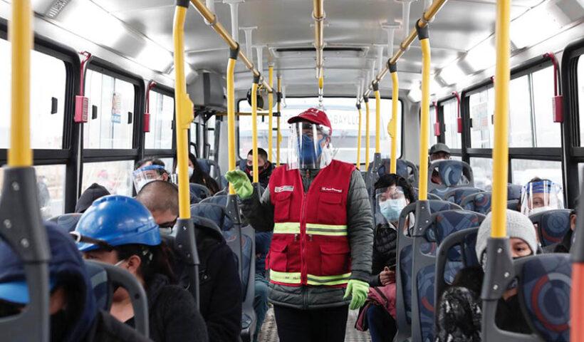 Servicios de transporte público tendrán nuevo horario desde este 31 de enero