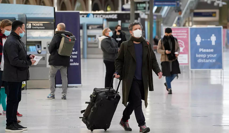 Reino Unido suspende ingreso de viajeros procedentes de Perú y otros países de Sudamérica por nueva variante de Covid en Brasil