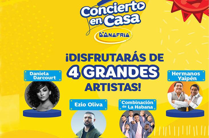 """D'Onofrio lanza """"Concierto en Casa"""" con grandes artistas nacionales"""