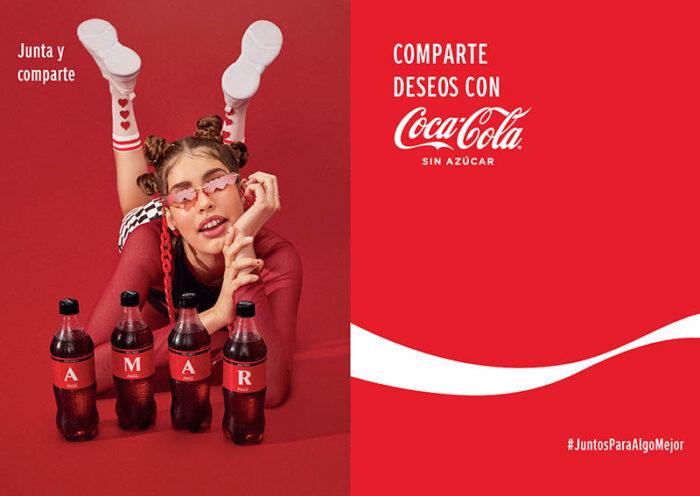 """Campaña de Coca-Cola """"Juntos Para Algo Mejor"""", presenta al mercado nuevas etiquetas de edición ilimitada"""