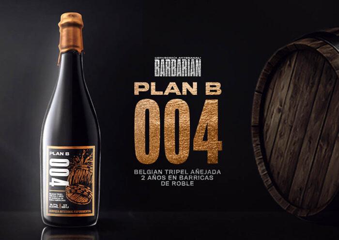 """Barbarian lanza """"Plan B 004"""" la cuarta edición de una cerveza única"""