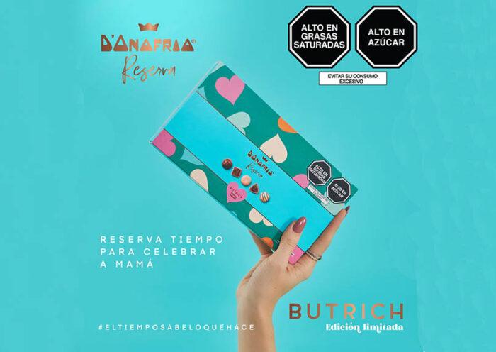 Butrich colabora con D'Onofrio Reserva para edición limitada de chocolates