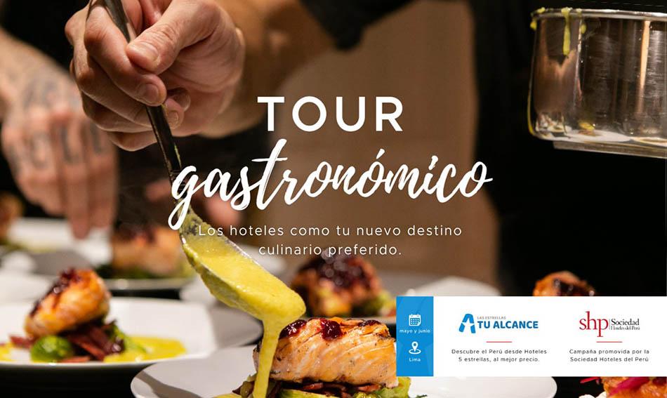 SHP: Hoteles presentarán lo mejor de su gastronomía peruana