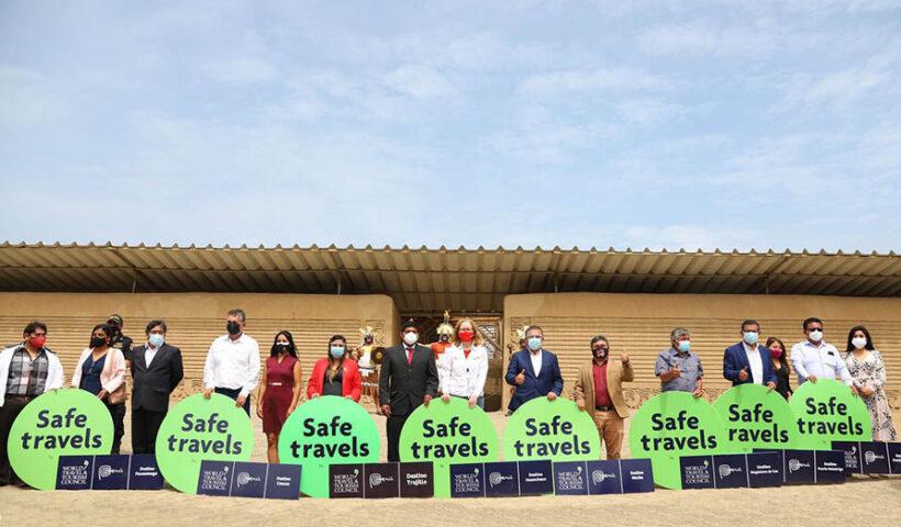 Ocho destinos turísticos de La Libertad obtienen sello Safe Travels