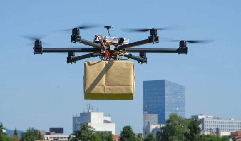 Delivery con drones se implementaría en el país para entrega de comida y medicinas