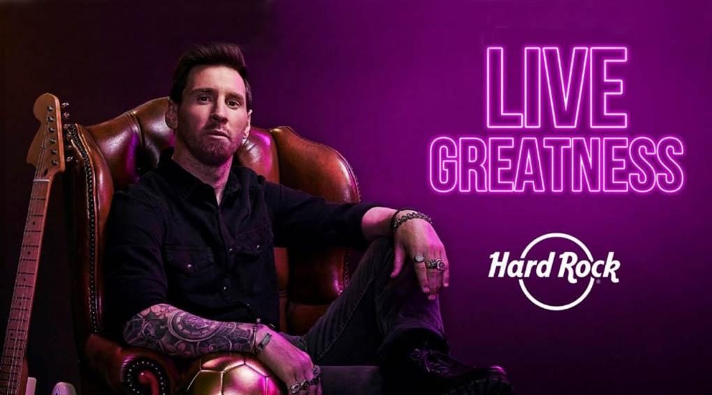 HARD ROCK celebra su 50 aniversario anunciando a Lionel Messi como su nuevo embajador