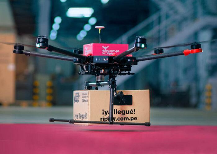 AeroRipley: el proyecto piloto de delivery con drone para compras online