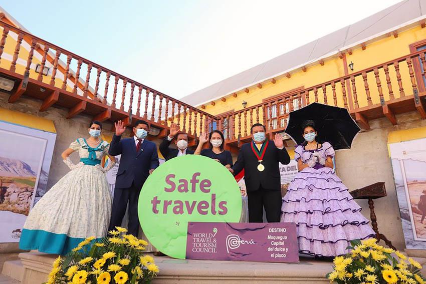 Moquegua recibe el sello internacional Safe Travels