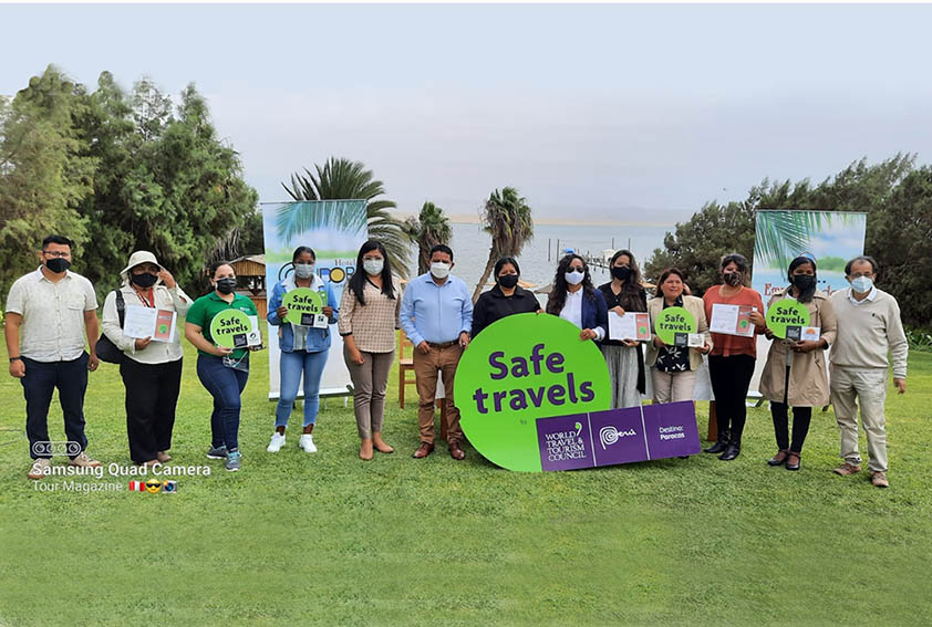 Empresas de Turismo de Paracas recibieron el Sello Safe Travels