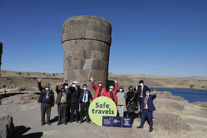 """Destino Puno-Lago Titicaca recibe el sello internacional """"Safe Travels"""""""