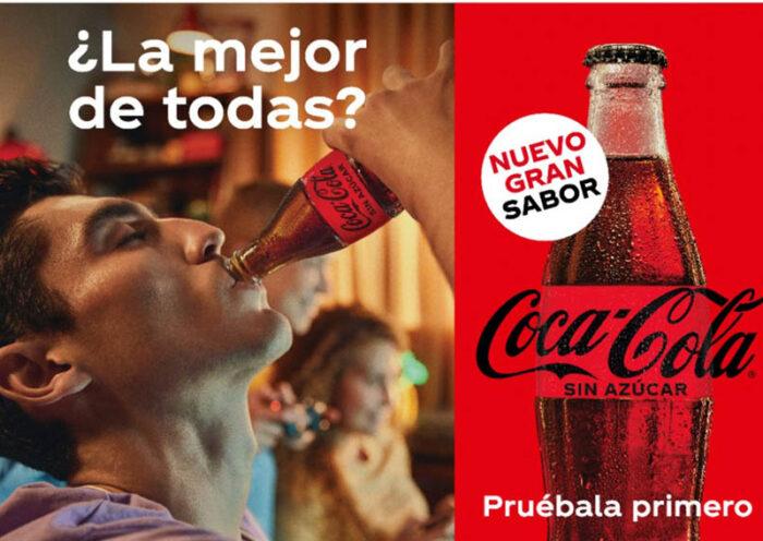 Nuevo sabor Coca-Cola Sin Azúcar