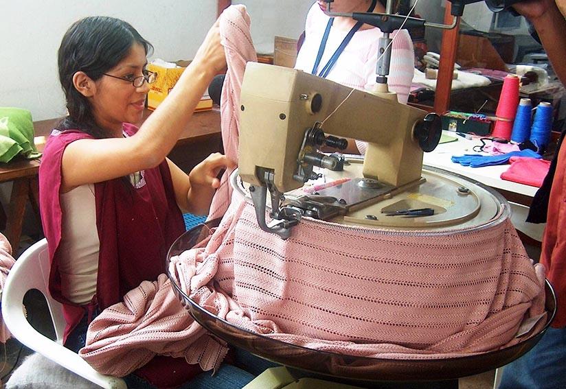 Suéteres de fibra de alpaca se recuperan