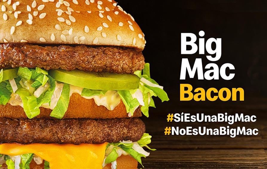 Campaña de lanzamiento Big Mac Bacon