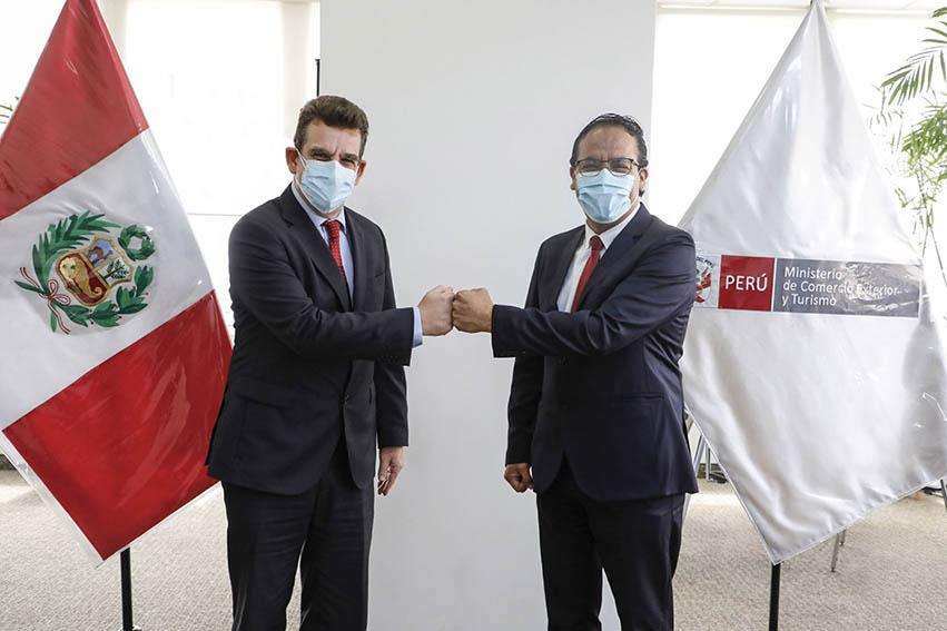 Perú e Israel elaborarán plan de trabajo para impulsar desarrollo agroexportador y el turismo