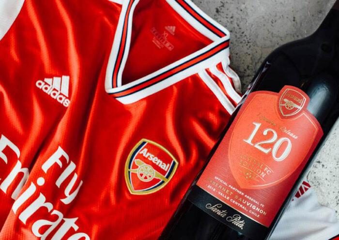 120 Arsenal FC: el vino de edición limitada que llega a Perú