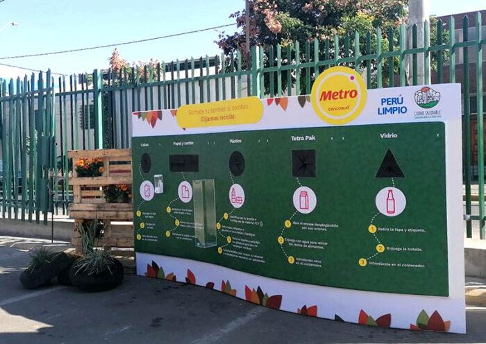 Estación de reciclaje Metro