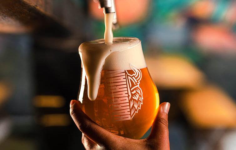 Cerveza de trigo de Barbarian 'La Nena Wheat Ale'